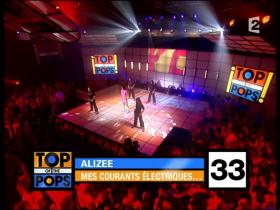 Alizee J'ai Pas Vingt Ans (Live Top Of The Pops France)