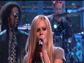 Avril Lavigne I Can Do Better (Saturday Night Live 2007) (HD)