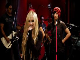 Avril Lavigne Live Orange Lounge