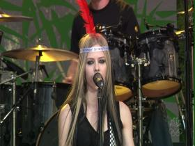 Avril Lavigne My Happy Ending (The Tonight Show with Jay Leno, Live 2004) (HD)