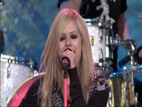 Avril Lavigne When You're Gone (The Tonight Show with Jay Leno, Live 2007) (HD)