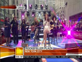 Beyonce Irreplaceable (The Today Show, Live 2007) (HD)