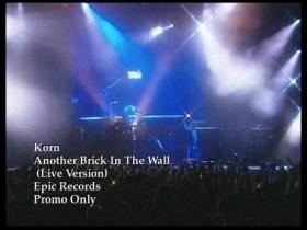 Korn Another Brick In The Wall (Live)