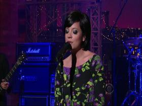Lily Allen The Fear (Late Show with David Letterman, Live 2009) (HD)