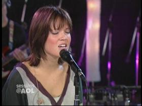Mandy Moore Moonshadow (Sessions@AOL, Live 2003)
