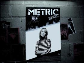 Metric Poster Of A Girl
