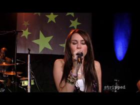 Miley Cyrus The Driveway (Clear Channel Stripped Performance)