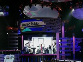 Paulina Rubio Causa Y Efecto (Billboard Latin Music Awards, Live 2009) (HD)
