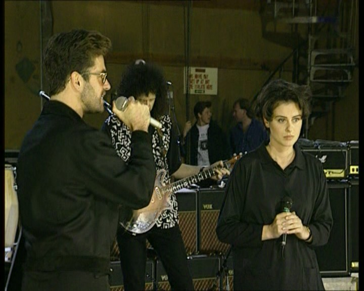 Queen Days Of Our Lives (George Michael & Lisa Stansfield, Rehearsal at Bray Studios)