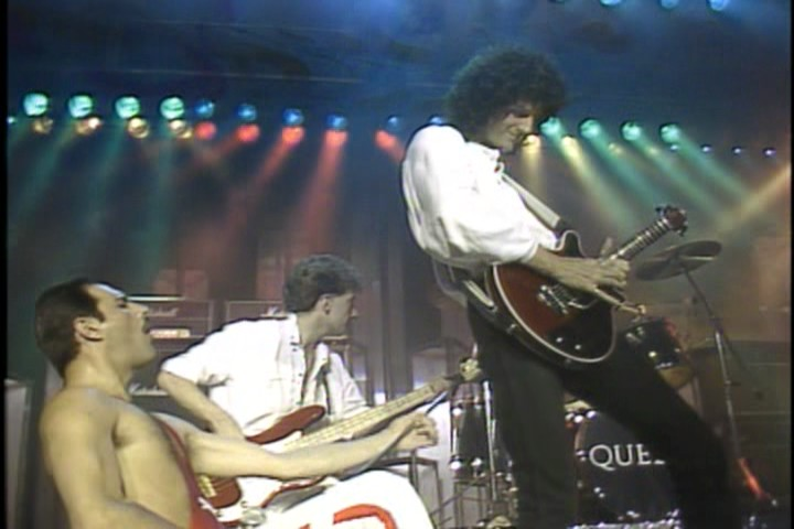 Queen Montreux Pop Festival, 1984