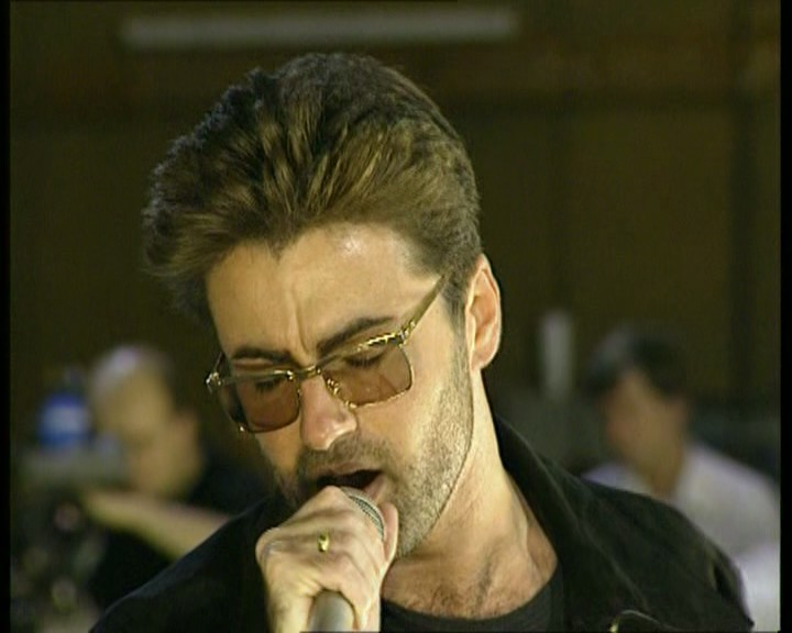 Queen Somebody To Love (George Michael, Rehearsal at Bray Studios)