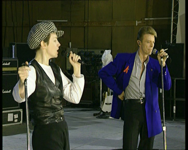 Queen Under Pressure (David Bowie & Annie Lennox, Rehearsal at Bray Studios)