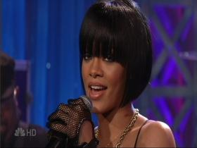Rihanna Umbrella (The Tonight Show with Jay Leno, Live 2007) (HD)