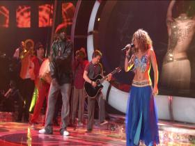 Shakira Hips Don't Lie (feat Wyclef Jean) (American Idol, Live 2008) (HD-Rip)