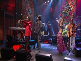 The Black Eyed Peas Mas Que Nada (feat Sergio Mendes) (The Tonight Show with Jay Leno, Live 2006) (HD)